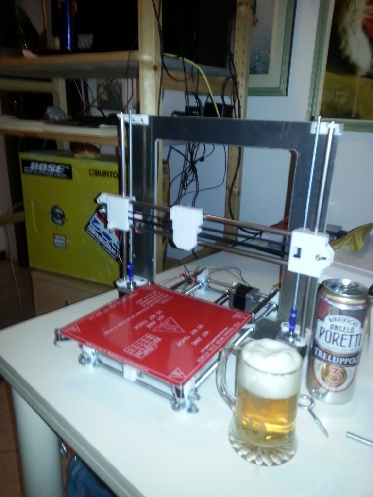 Prusa i3 without extruder